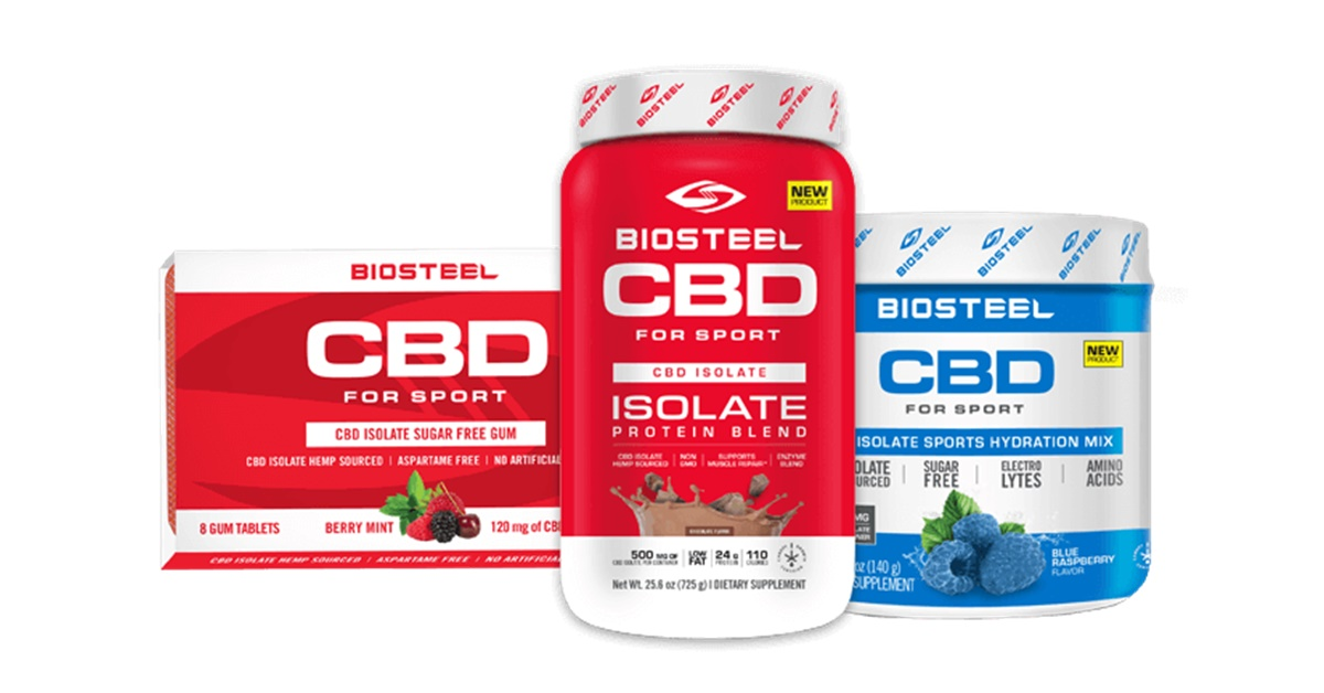 BioSteel CBD Review of NEW available products